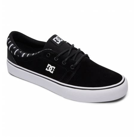 DC Trase SE Shoes Black White Black