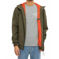 Iriedaily El Nino Jacket Olive Orange