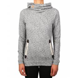 Iriedaily Turtle Space Hoody Grey Melee