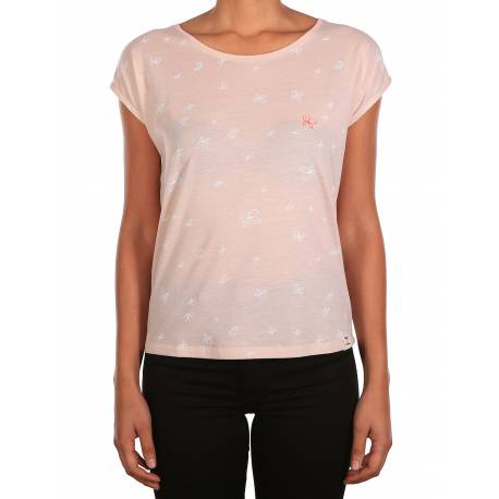 Iriedaily Fly Different Tshirt in kleur Roze