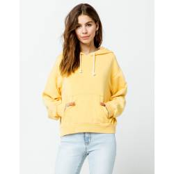 RIPCURL SUNDRENCHED HOODIE IN RETRO YELLOW