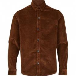 Kronstadt John Corduroy Over Shirt Dusty Brown
