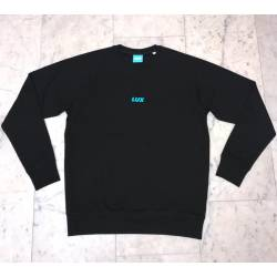 Lux Crew Iconic Sweater Black Vegan