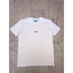 Lux Crew Tee White 100% Organic Cotton Vegan