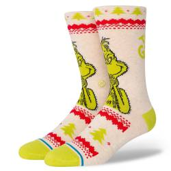 Stance Grinch Sweater Canvas Socks