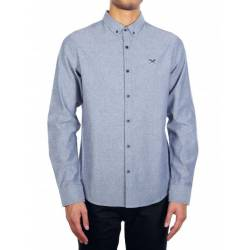 Iriedaily Samuel LS Shirt Jeansblue for Men