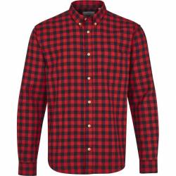 Kronstadt Johan Check Gr.18 shirt - Red