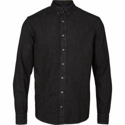 Kronstadt Johan Denim shirt - Black
