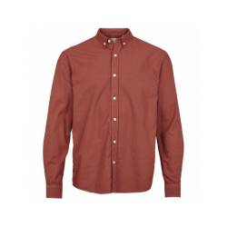 Kronstadt Johan Oxford Red Dyed Cotton shirt