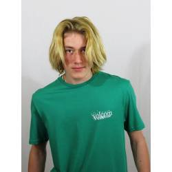 Volcom Burgoo T-Shirt - M Synergy Green