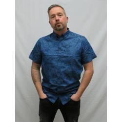 Kronstadt Johan Denim Flower Shirt
