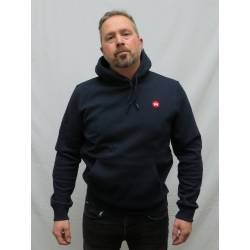 Kronstadt Lars Recycled Cotton Hoodie Navy