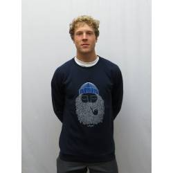 Bask In The Sun Sailor Pipe Sweat Navy